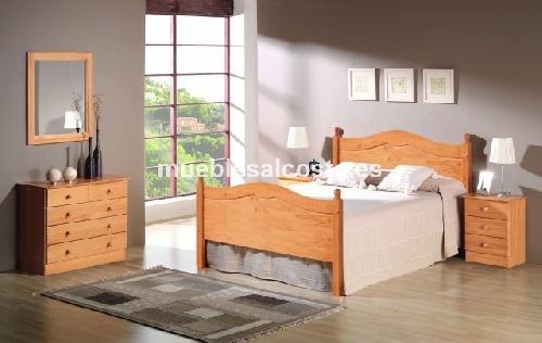 Dormitorio pino