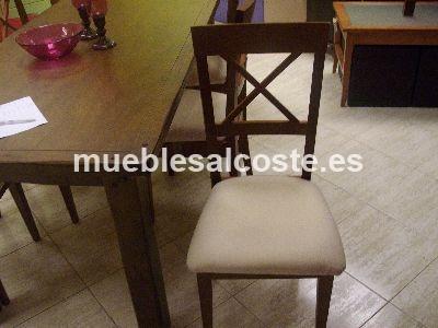 Mesa comedor fija 6 sillas cod 2281 liquidacion - Mesa comedor 6 sillas ...