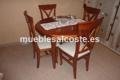 Mesa de salon y 4 sillas cod 2587 segunda mano - Mesas y sillas de salon ...