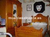 Dormitorio juvenil Madera Maciza Miel Viejo