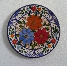 PLATO de CERÁMICA de 23 cm.