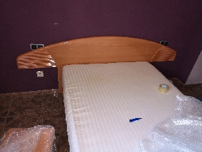 Muebles de habitación cómoda, cabezero, mesillas, toda habitación.