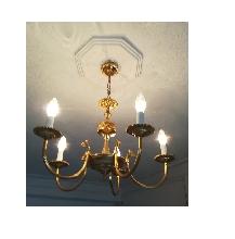 Lámpara de techo con 5 brazos