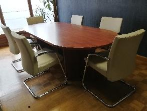 Pack Mesa de reuniones+mobiliario