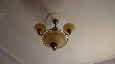 Lámpara detecho 6 bombillas