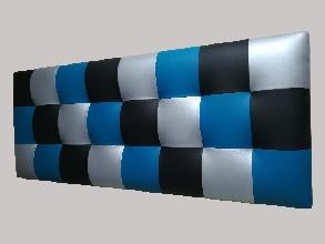 cabecero de diseño 3 colores.