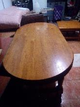Mesa salón extensible pino macizo
