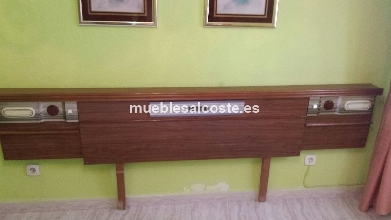 Mueble bar salon en madera cod 14503 segunda mano for Mueble bar salon