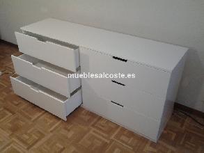 Muebles Para La Sala Comoda Blanca Ikea Segunda Mano