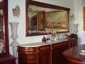 Vitrina de madera noble y puertas de cristal cod 15264 - Aparadores antiguos segunda mano ...