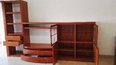 Mueble de comedor de madera maciza cod 17769 segunda mano for Muebles segunda mano tarragona