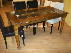 Aparador estilo colonial acabado madera cod 13099 for Liquidacion muebles alicante