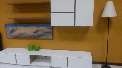 Mueble de comedor 260cm blanco
