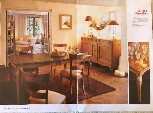 Comedor de diseno completo mesa ampliable 6 sillas for Mesa comedor ampliable