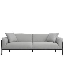 Sofa Alpino Nórdico Gris
