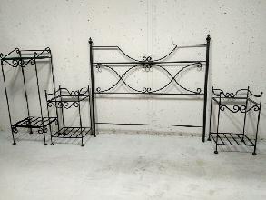 Dormitorio matrimonio forja artesanal