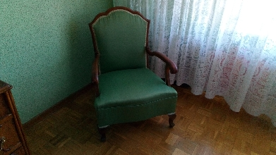 descalzadora y silla