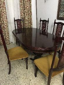 Mesa salón 6 sillas