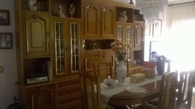mueble comedor madera de haya cod:19532 segunda mano, Mueblesalcoste.es
