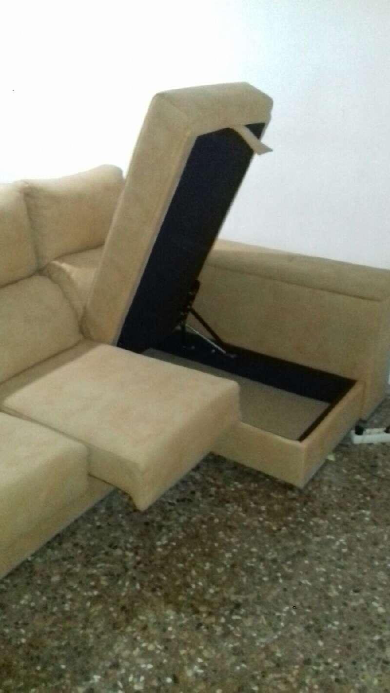 Sofa cheslong estilo igual foto acabado igual foto cod - Sofas cheslong segunda mano ...