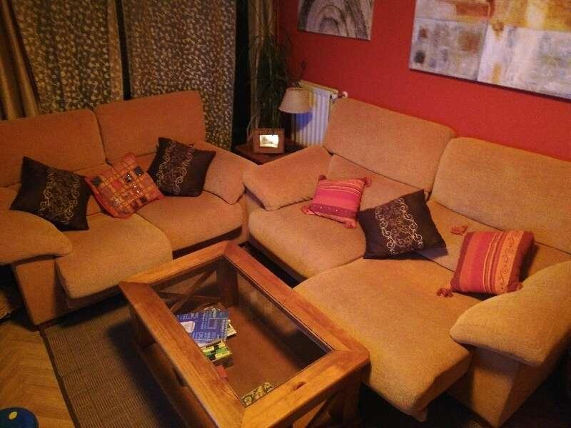 Sofas 3+2 extensibles.