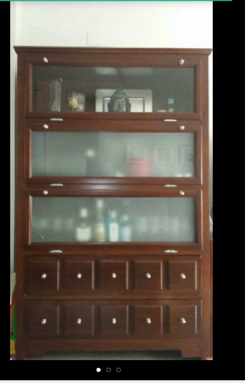 Mueble Salon Vitrina Cod 15187 Segunda Mano
