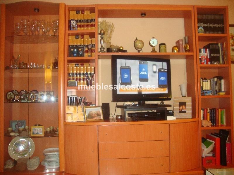 Conjunto mueble de salon con vitrina cod 12794 segunda for Conjunto muebles salon
