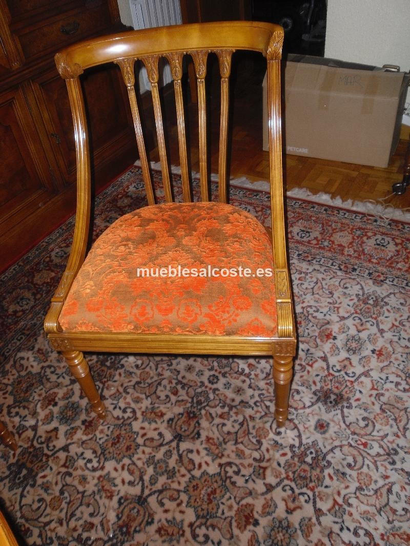 Mesa de comedor 6 sillas cod 15426 segunda mano for Mesa de comedor 6 sillas