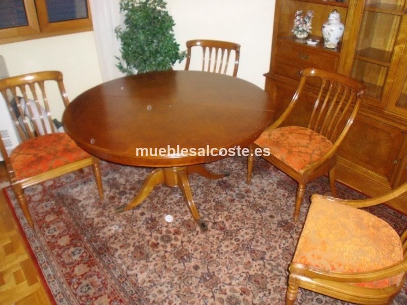 Mesa de comedor + 6 sillas cod:15426 segunda mano, Mueblesalcoste.es