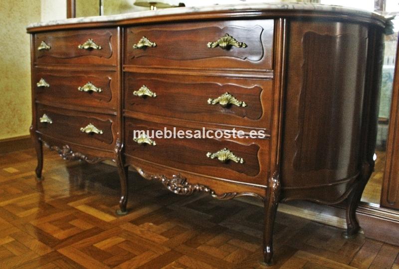 Comoda de dormitorio o mueble de recibidor cod 15431 - Mueble vintage segunda mano ...