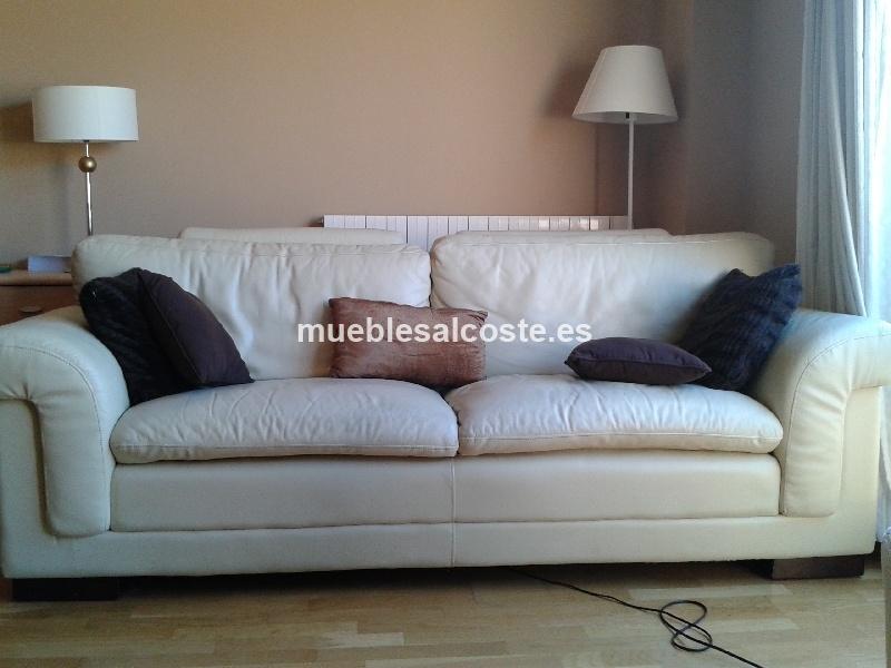 Sillon electrico relax sofa piel 3 plazas cod 12828 segunda mano - Sillon 3 plazas ...