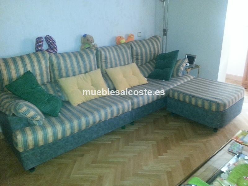 Sofa con chaise longue cod 12829 segunda mano for Chaise longue segunda mano barcelona