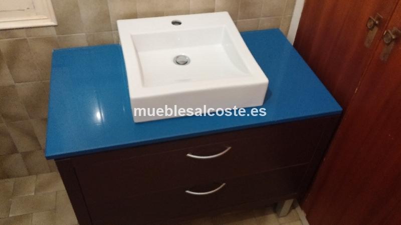 Lavabos Para Baños Segunda Mano:Mueble de lavabo 12871 segunda mano, Mueblesalcostees