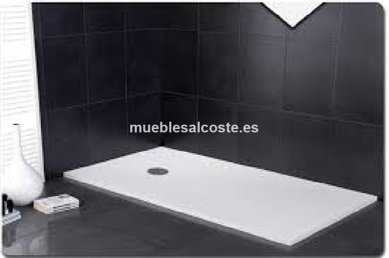 Plato ducha pizarra 120x80 cambio de escaparate cod for Plato ducha pizarra blanco