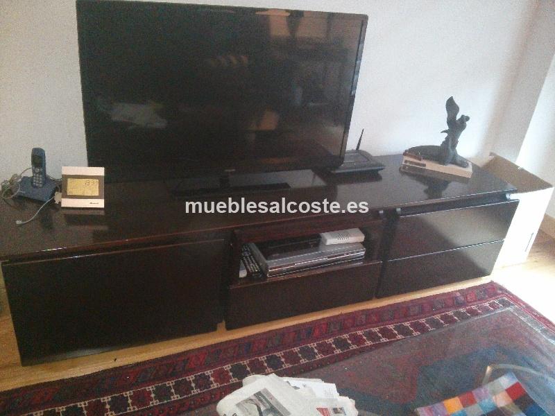 Mueble television estilo madera acabado madera 12907 for Muebles segunda mano bizkaia