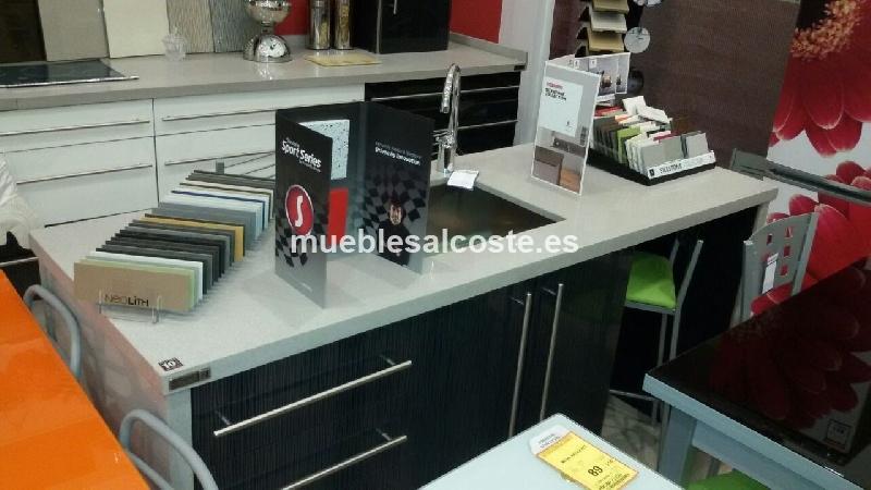 Cocina con isla cod 12922 liquidacion for Silestone precios baratos