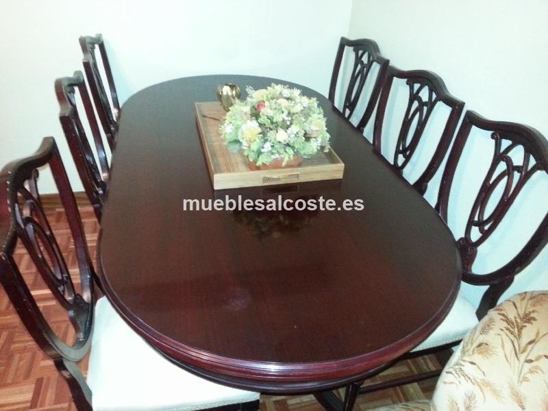 Mesa comedor extensible con sillas cod:12927 segunda mano ...