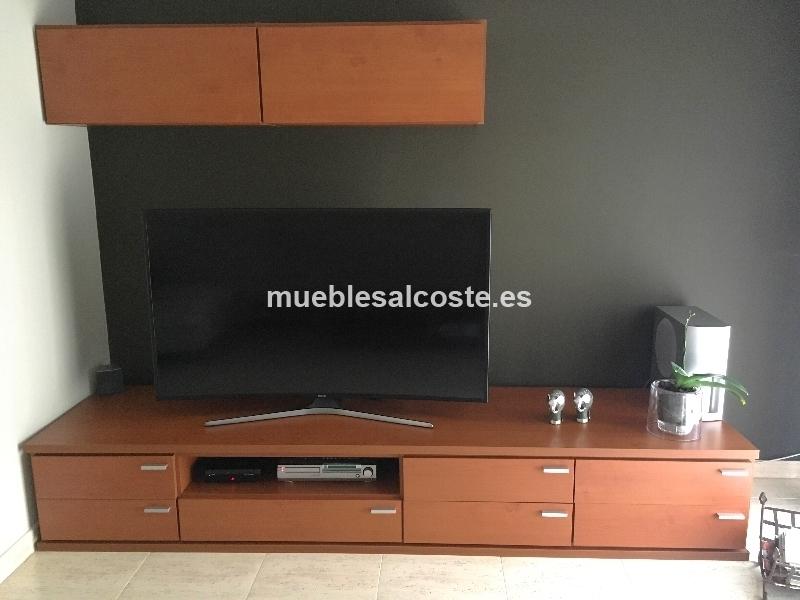 MUEBLE TELEVISOR Y VITRINA COLGANTE
