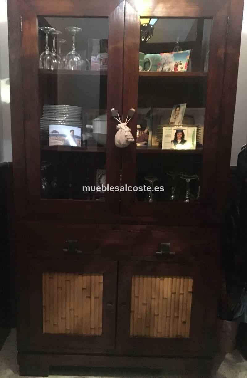 Mueble vitrina aparador