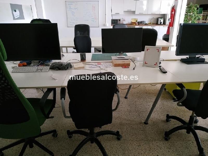 mesas de oficina blancas IKEA cod:28501 segunda mano ...