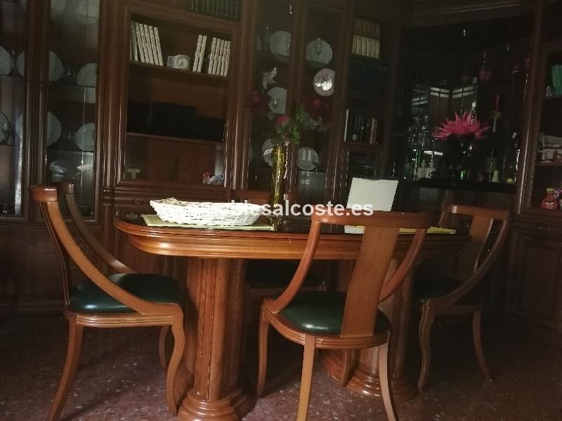 mesa y 6 sillas salon