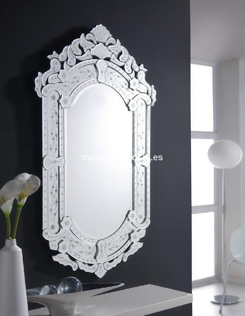 espejo decorativo veneciano barato cod 12935 segunda mano