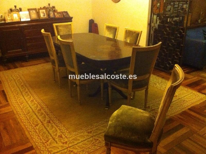 Mesa de comedor con sillas cod 12962 segunda mano - Mesas y sillas de comedor segunda mano en madrid ...