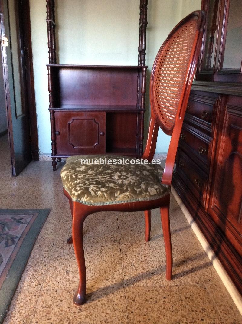 Conjunto mesa comedor 8 sillas cod 13004 segunda mano - Mesas y sillas de comedor segunda mano en madrid ...