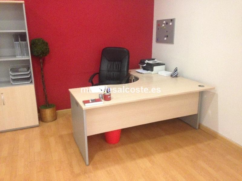 Muebles oficina estilo moderno acabado chapa natural cod for Muebles de oficina 2000