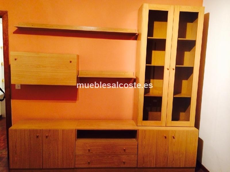 Mueble Salon Estilo Madera Acabado Madera Cod 13177