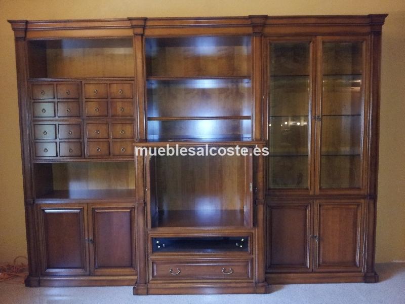 Mueble de salon libreria cod 13573 liquidacion - Muebles vizcaya liquidacion ...