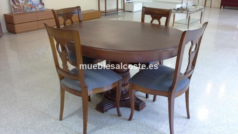 MESA Y SILLAS DE COMEDOR cod:13586, liquidacion Mueblesalcoste.es