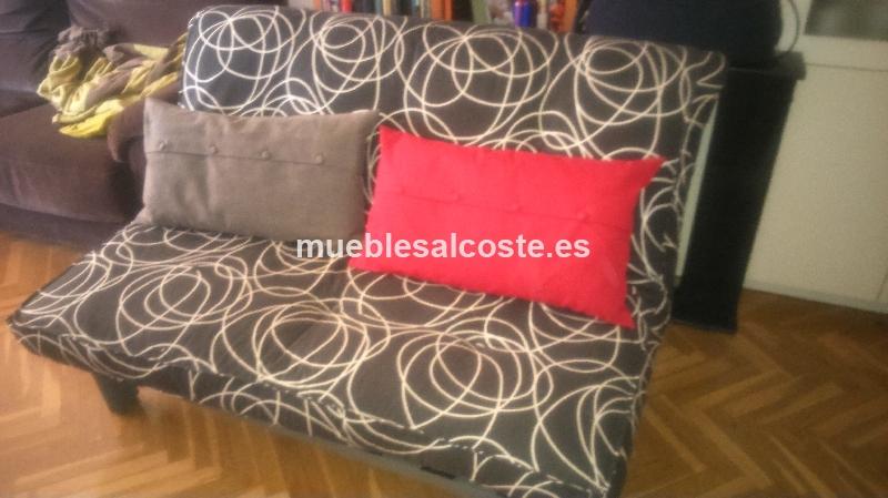 Sof cama estilo moderno acabado igual foto cod 13350 for Sofa cama 1 20 cm
