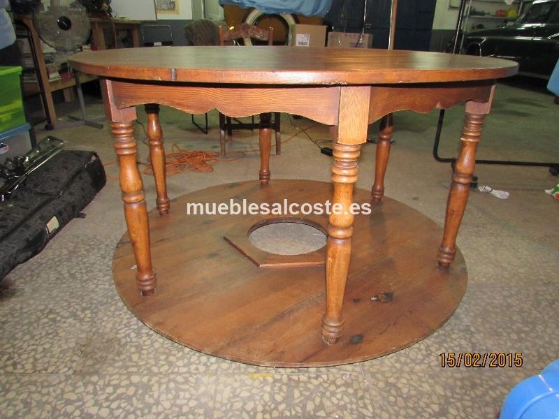 Mesa redonda cod 13415 segunda mano - Mesas mosaico segunda mano ...